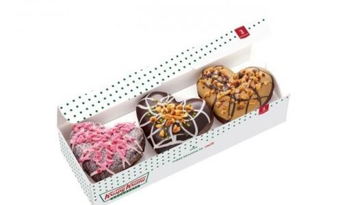 【1/9~2月中旬】クリスピークリームドーナツでバレンタイン限定ドーナツ&ドリンクが発売