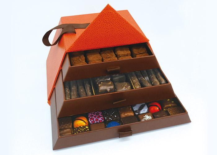ルピネ・ショコラティエのアソートボックス