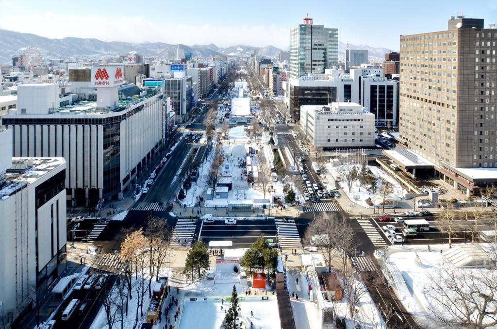 さっぽろ雪まつり・大通公園