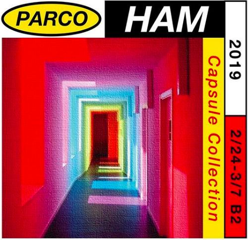 札幌パルコの期間限定ショップ HAM