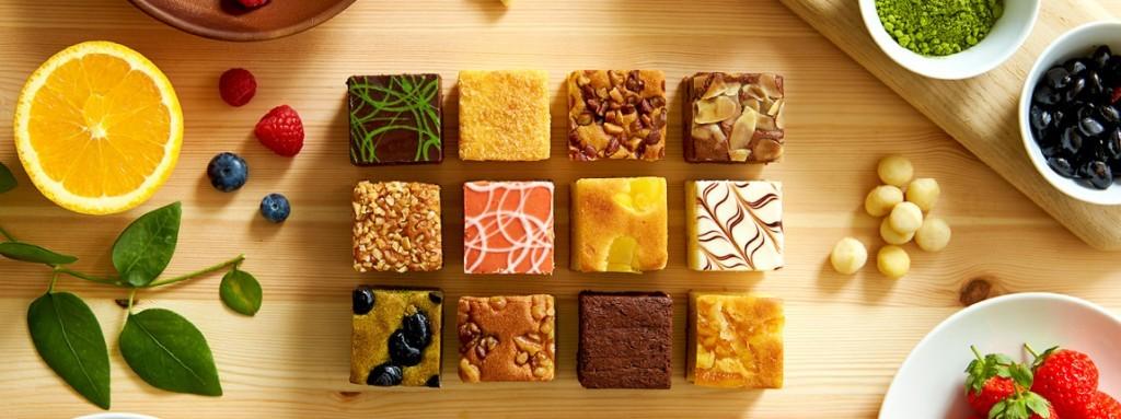 ナガラタタンのキューブ型パウンドケーキ