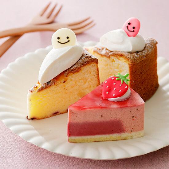 佐藤洋菓子店のホワイトチョコのガトーショコラ