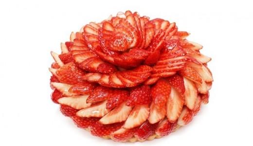 【3/7~24】カフェコムサで稀少ないちごを使用したケーキを提供『日本苺物語』が開催!