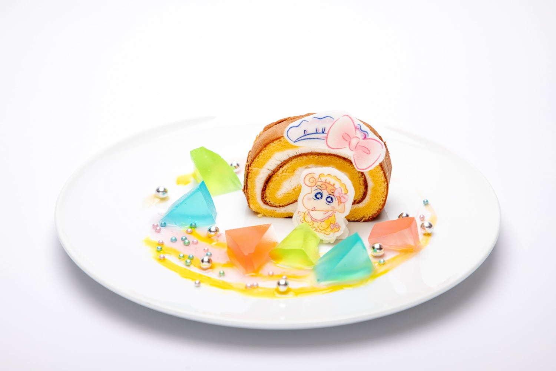 ハローキティとひまわりのラブリー前髪ロールケーキ