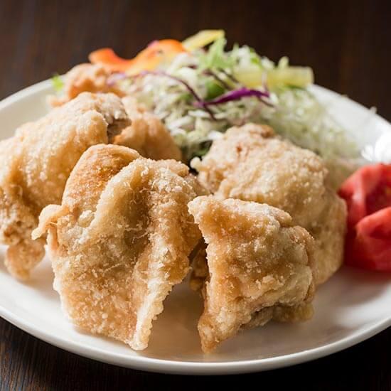 チキンペッカーの中札内 鶏もも肉のから揚げ