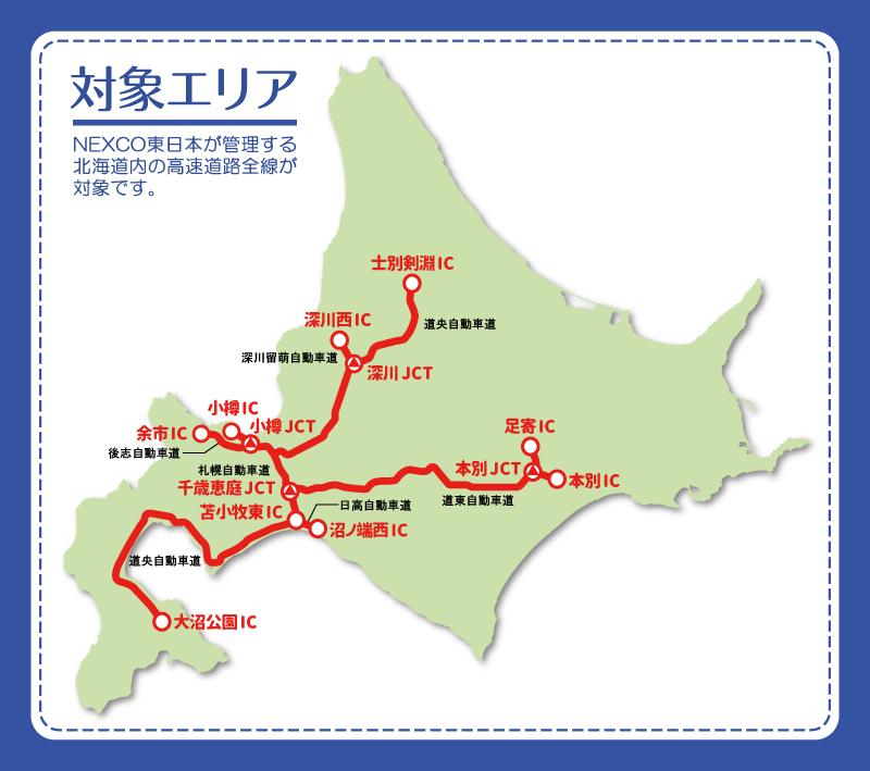 『北海道観光ふりーぱす』の対象路線