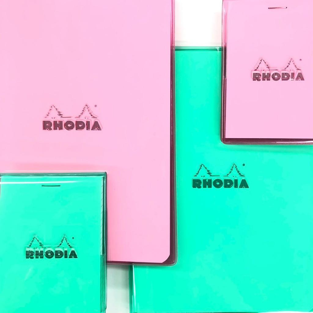「ロディアNo.11」「ロディア A5ノート」(クオバディス)・・・・・918円、1,296円