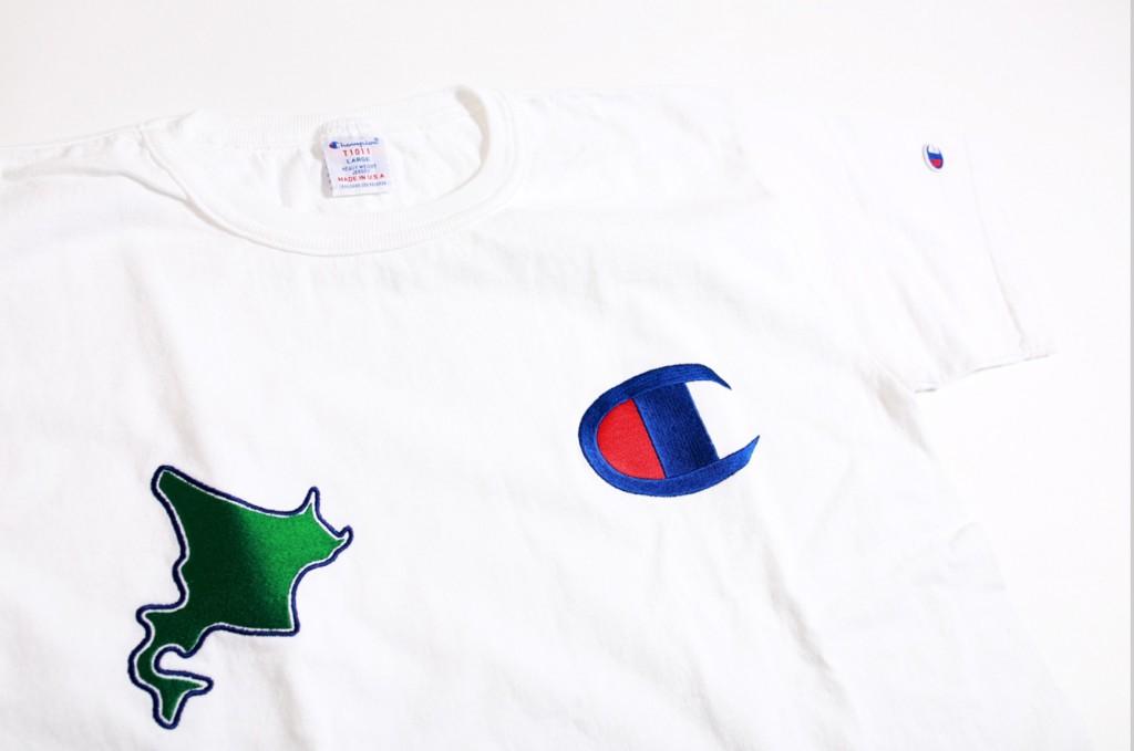 北海道限定のMade in USA 「T1011」Tシャツ