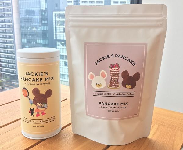 JACKIE'S PANCAKE MIX(缶) 680円&JACKIE'S PANCAKE MIX(袋) 480円