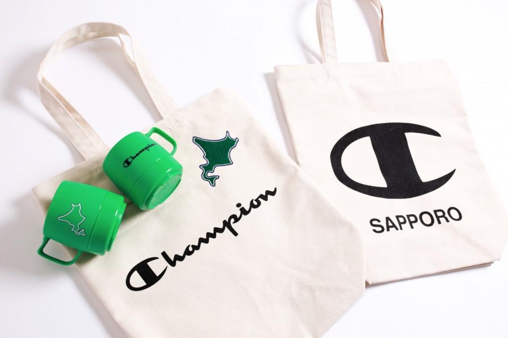 チャンピオン 札幌ステラプレイス店のノベルティ