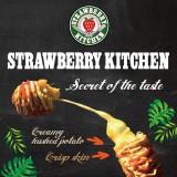 ポテチードッグを販売するstrawberry kitchen