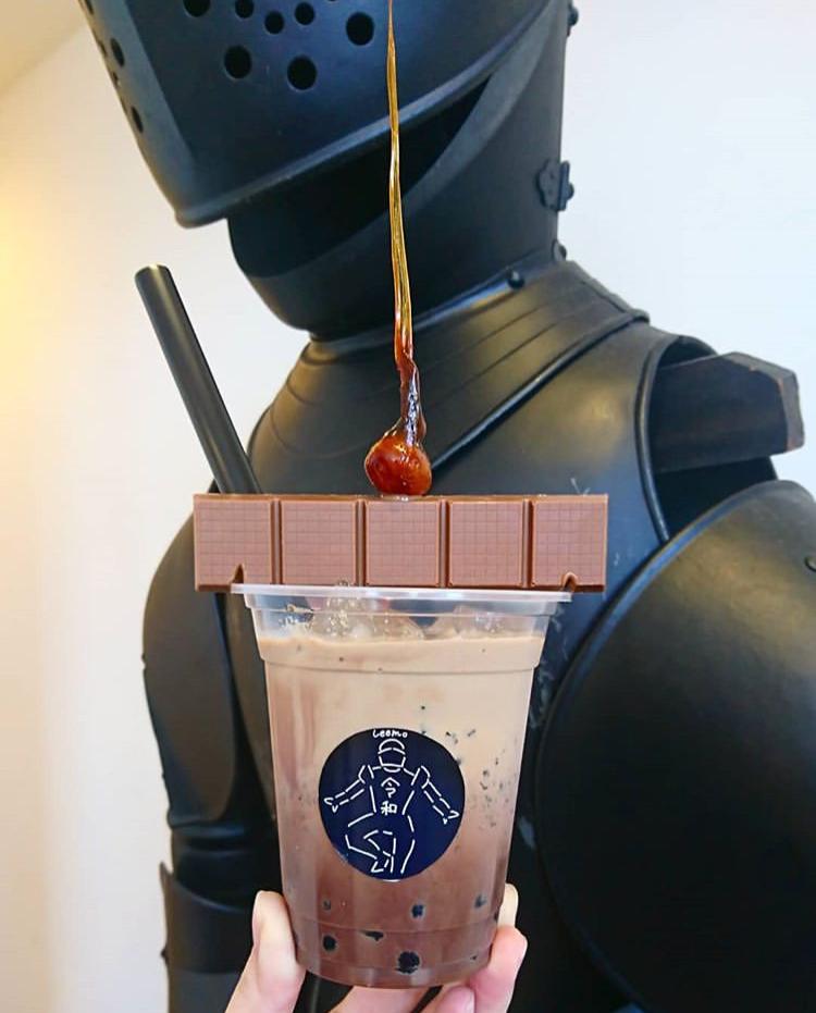 チョコレート風味のタピオカジャンヌダルク