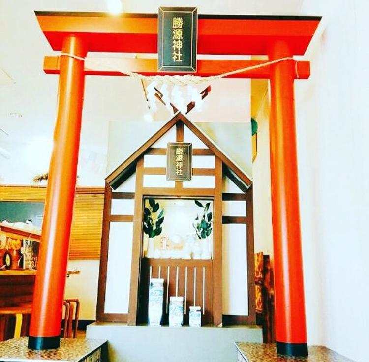 さっぽろ羊ヶ丘展望台に勝源(カツゲン)神社が期間限定で設置