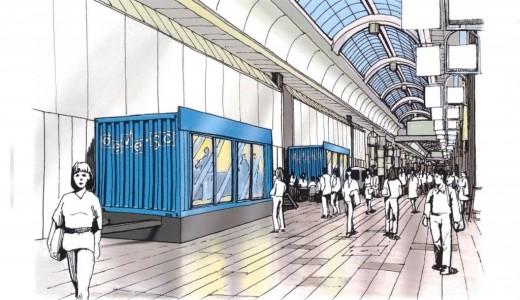 狸小路に新施設『deveso(でべそ)』がオープン!キッチンカーや販売コンテナとして運用