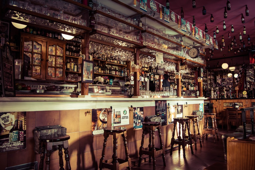 【アイリッシュパブ ケルツ 札幌店】豊富なビールにスポーツ観戦もできるバー