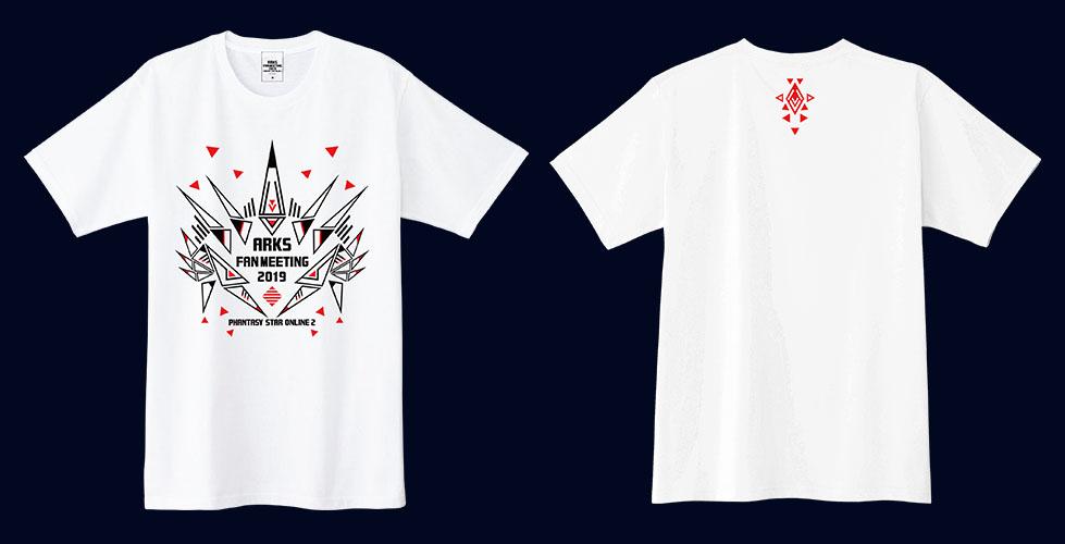 「ファンタシースター感謝祭2019」公式Tシャツ(M/L/XL) 各¥2,700(税込)