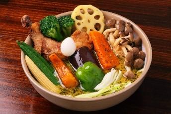 チキン野菜カリー 1,950円