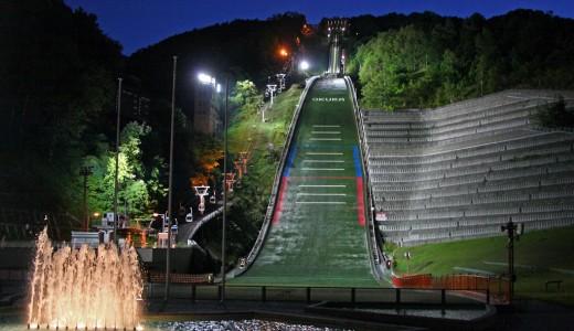 大倉山がゴールデンウィーク期間限定で夜間も特別営業!札幌の夜景を楽しめる!