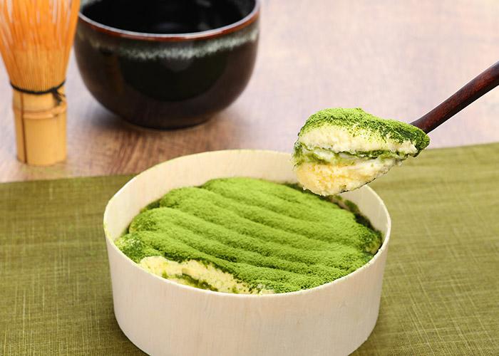 まざあぐうすの京の抹茶ティラミスチーズケーキ 1,350円