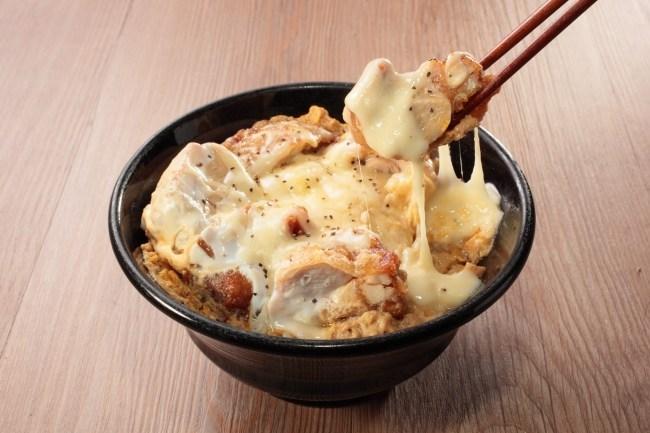 チーズからたま丼