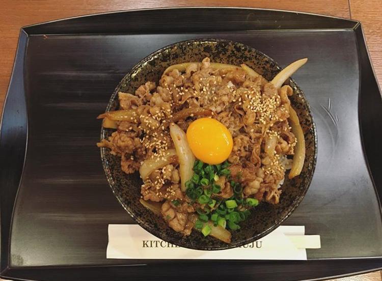 キッチン徳寿の牛カルビ丼 大盛