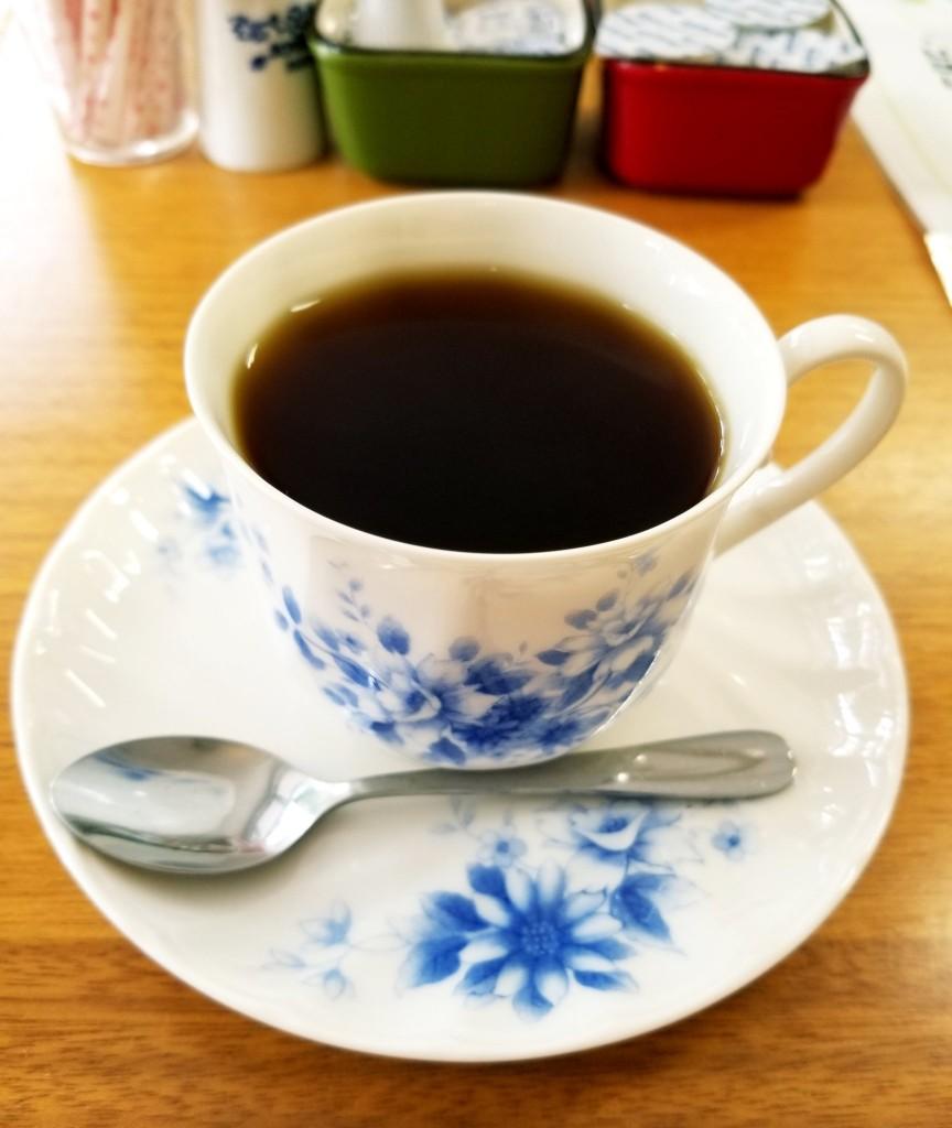 カフェ コロポックルのコーヒー