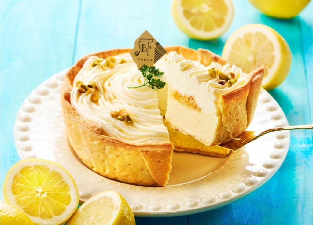 パブロで新作タルト『レモンカスタードのチーズタルト』を発売