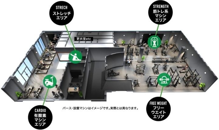 FiT24には高品質なトレーニング環境を完備