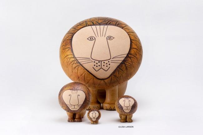 リサ・ラーソンの陶芸作品