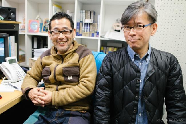 藤村忠寿(左)と嬉野雅道(右)