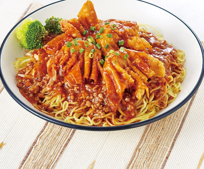 愛香楼(あいかろう)の五目あんかけ麺