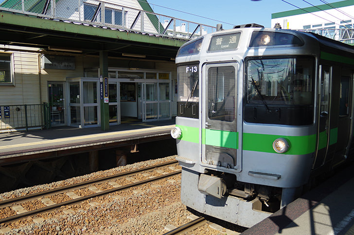 JR北海道の列車
