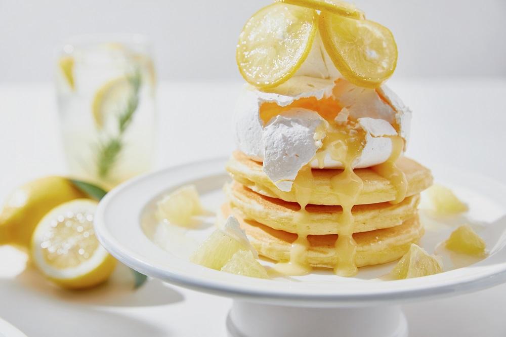 レモンパブロバのパンケーキ