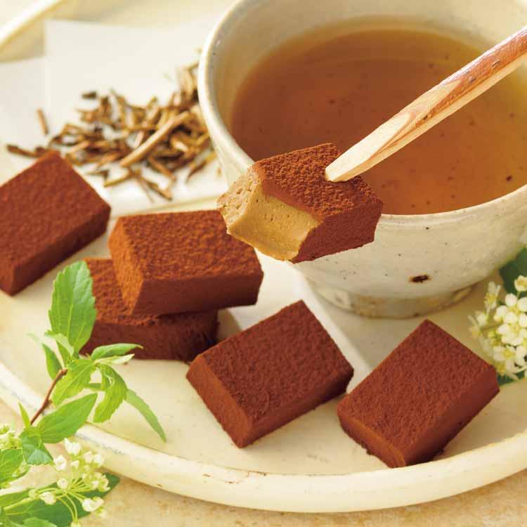 生チョコレート[ほうじ茶]