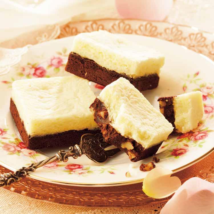 チーズ&チョコブラウニー