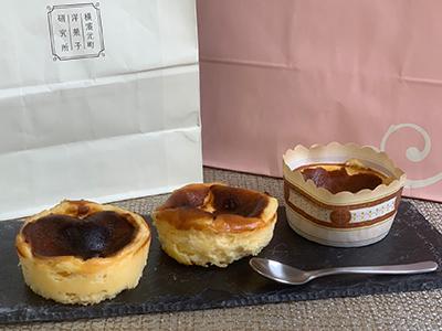 横濱元町洋菓子研究所のバスクチーズケーキ