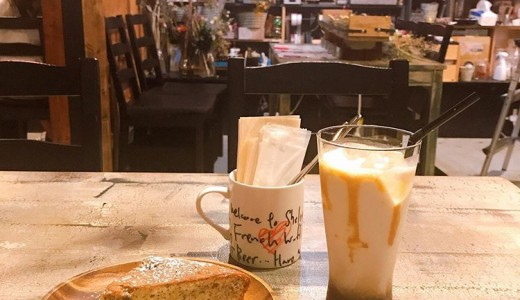 【ココロネ シェルターカフェ】スイーツと一緒にドライフラワーも楽しめる大通カフェ