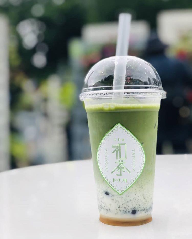 【和茶タピオカ トリプル】和茶を使用した和風タピオカを提供