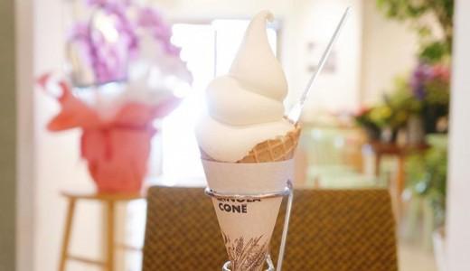 【マンマペルテ】豆乳ソフトクリームはふわもこヘルシー!西18丁目に健康的なソフトクリームが!