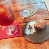 パウンドケーキ専門 カフェ Rain(レイン)のドルチェとドリンク