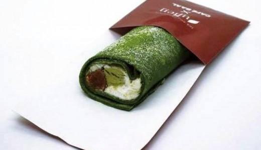 CAFE BAAL×ujien<宇治園>が丸井今井で船見坂クレープを期間限定で販売!