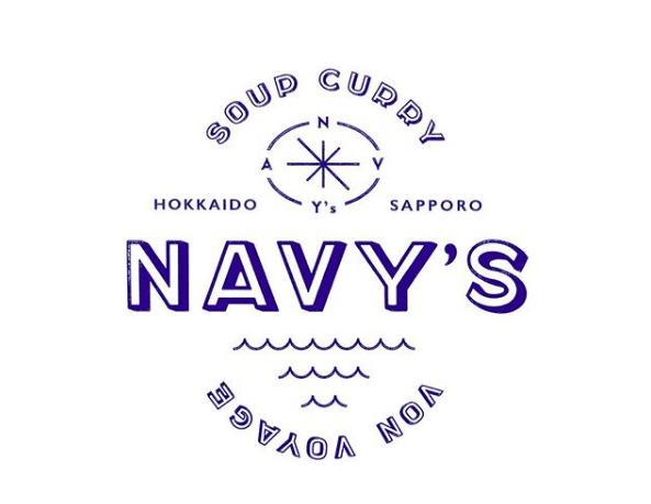 スープカレー ネイビーズのロゴ