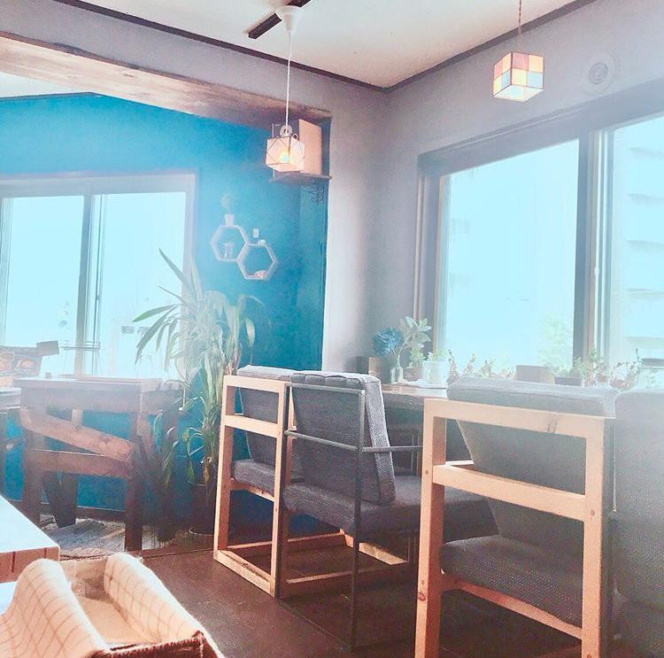 パウンドケーキ専門 カフェ Rain(レイン)の店内