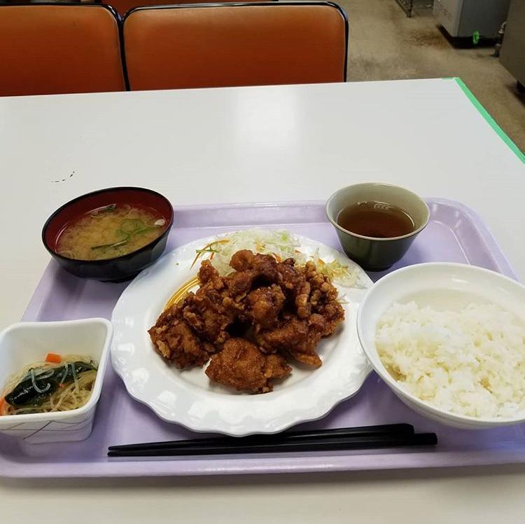 札幌市手稲区役所 食堂のザンタレ定食