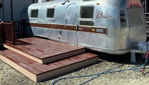 【Brown Bear(ブラウン ベアー)】桑園におしゃれすぎるエアストリームカフェがオープン!