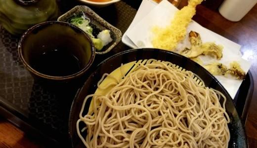 【そば処飲み処いちえん】まいたけの天ぷらが美味しい大通のそば屋さん!