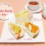 カフェコムサ 丸井今井店で発売前のももスイーツを食べれる『Triple party ~もも~』が開催