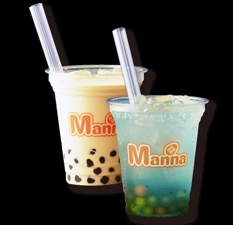 CoCoManna TEA STYLEの台湾ミルクティー・ハワイアンライチソーダ