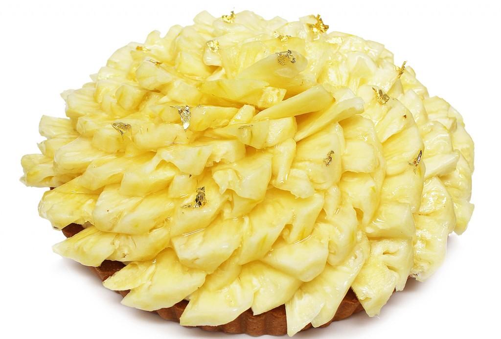 カフェコムサの丸形ケーキ