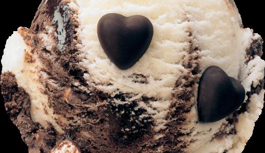サーティワンで大人カワイイフレーバー『モノクロ ラブ チーズケーキ』が発売!